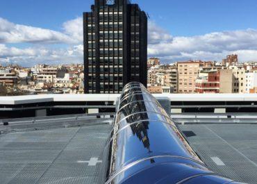 Una instalación de chimeneas emblemática en Madrid
