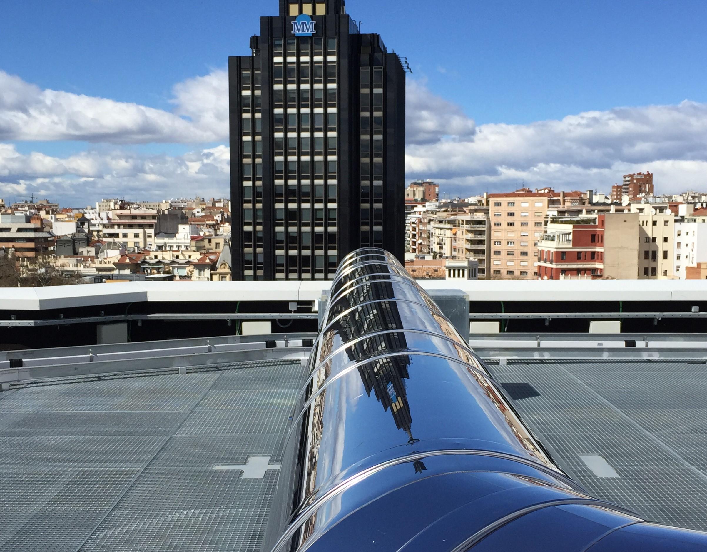 Integra SCH chimenea vertical Madrid